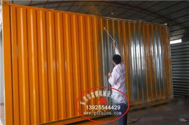 特种集装箱环保油漆涂装应用案例